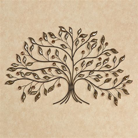 alexandra vining gem tree metal wall art