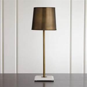 Astor Brass Buffet Lamp Reviews Crate And Barrel