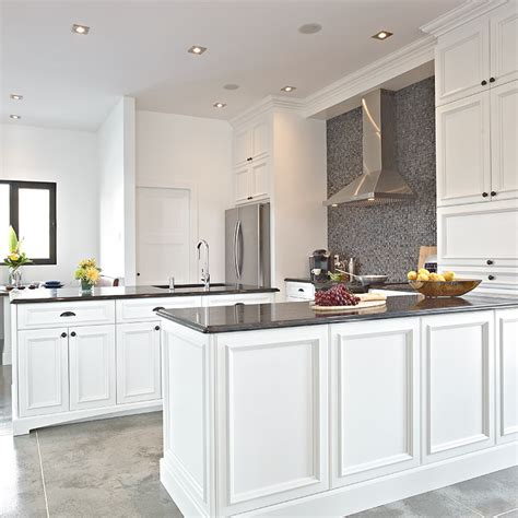 beauregard cuisine davaus cuisine blanche classique avec des idées