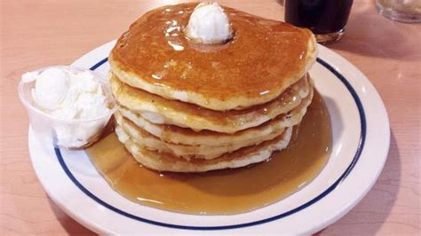 pancakes cuisine az 5 pancakes drowning in maple syrup picture of ihop flagstaff tripadvisor