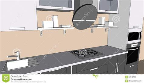 la cuisine moderne cuisine sympathique dessin des cuisin modern dessin