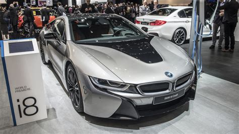2019 Bmw I8 Coupe At Detroit Auto Show.