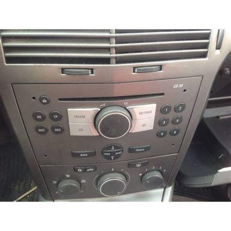 autoradio opel astra h cd30 autoradio opel astra h berlina diesel a atripalda