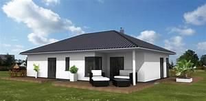 überdachte Terrasse Bauen : bungalow 118 m berdachte terrasse amex hausbau gmbh ~ Markanthonyermac.com Haus und Dekorationen