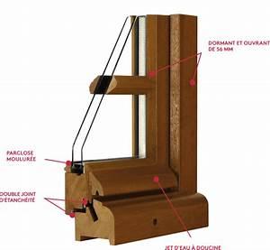 Joint De Porte Bois : fen tre bois authentik fen tre en ch ne kpark ~ Edinachiropracticcenter.com Idées de Décoration