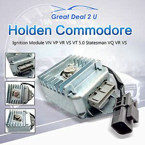 holden ignition module trigger commodore vn vp vr vq vt v8 sedan wagon 5 0l ebay