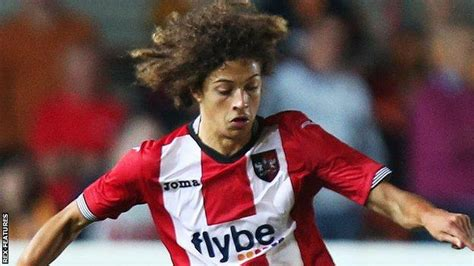 Ethan Ampadu: 16-year-old 'brilliant' in Exeter City FA ...