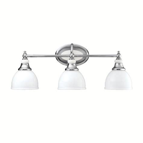 kichler 5369ch chrome pocelona 24 quot wide 3 bulb bathroom