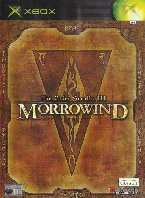 The Elder Scrolls Iii Morrowind 2002 Windows Box Cover