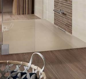 Moderne Badezimmer Mit Dusche : moderne badezimmer einrichten mit dusche bodengleich in beige freshouse ~ Sanjose-hotels-ca.com Haus und Dekorationen