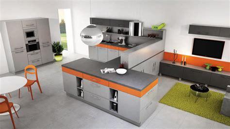 cuisine orange et grise cuisine grise et orange hc13 jornalagora