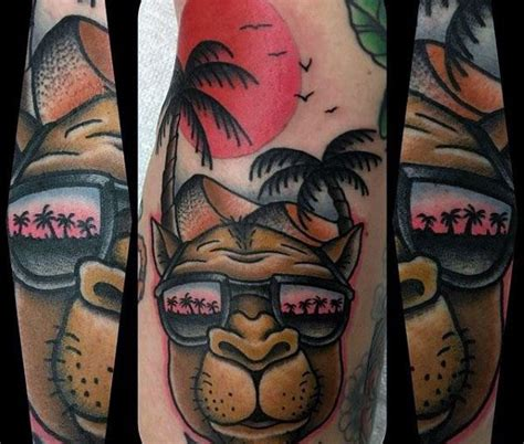 camel tattoo designs  men desert creature ink ideas