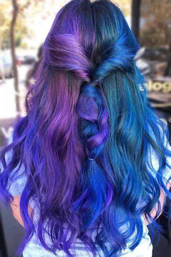 Blue And Purple Hair Colors To Look Fabulous Crazyforus