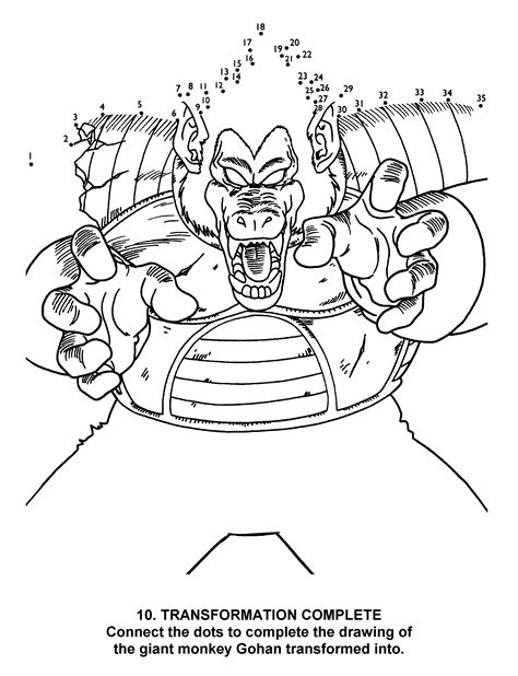 coloring pages dragon ball  animated images gifs