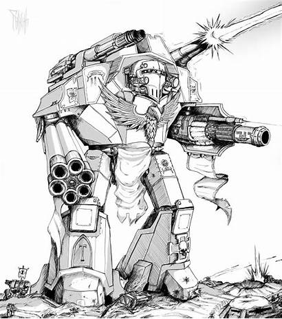 Warhammer 40k Warlord Titan Class Imperial Coloring