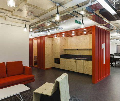 container   google campus industrial office design