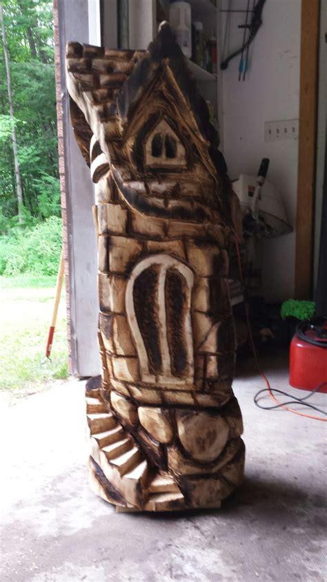 images  bark carvings  pinterest fairy