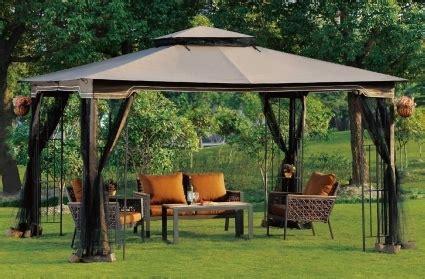 ez pop  tent instant patio gazebo canopy shade  mosquito netting