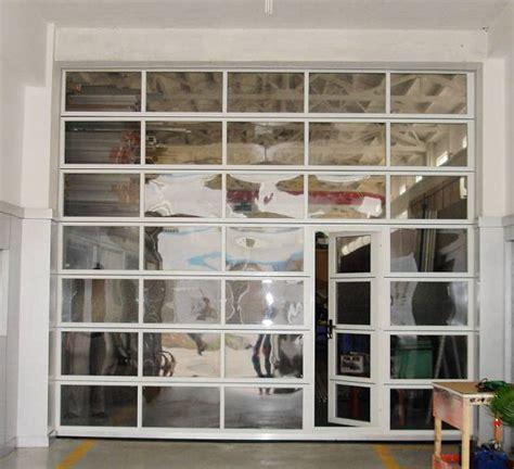 clear plastic roll up garage doors 1000 ideas about glass garage door on garage