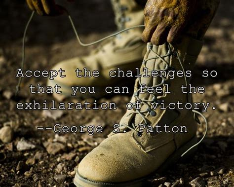 george  patton victory quote image accept