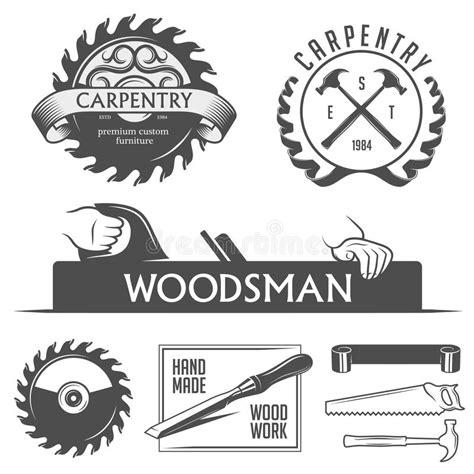 carpentry  woodwork design elements  vintage stock