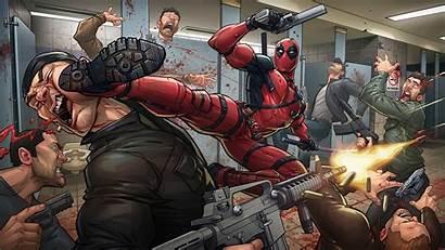 Deadpool Marvel Comics Desktop Wallpapers Backgrounds Mobile