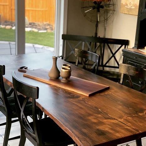 custom  edge table lush woodcraft kitchener waterloo