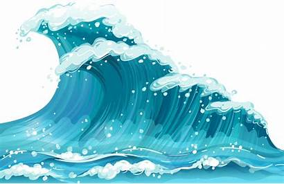 Transparent Ocean Waves Background Wave Clipart Clip