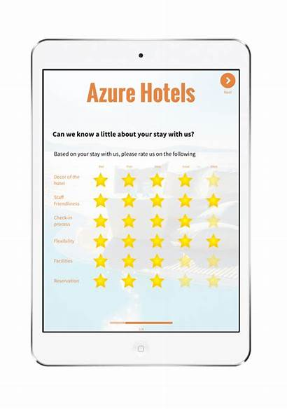 Hotel Survey Questions Feedback Rating Customer App