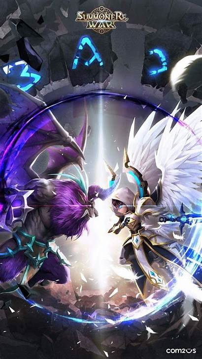War Summoners Iphone Jeux Summoner Personnages Dessin