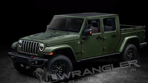 2018 Jeep Wrangler Scrambler Pickup Name And Diesel Engine