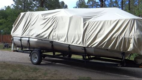 Pontoon Boat Top Covers by Best Pontoon Boat Cover Reviews Of The Top 3 And A Buyers