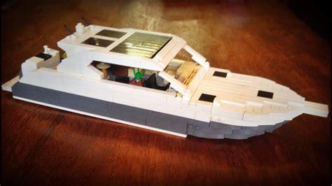 Boat Catamaran Lego by Lego Boat Moc Riviera 6000 Sport Yacht