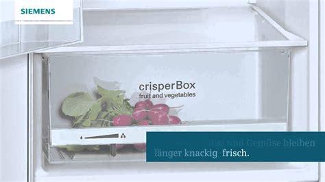 siemens kühlschrank gefrierkombination siemens k 252 hlschrank mit crisperbox erh 228 ltlich bei
