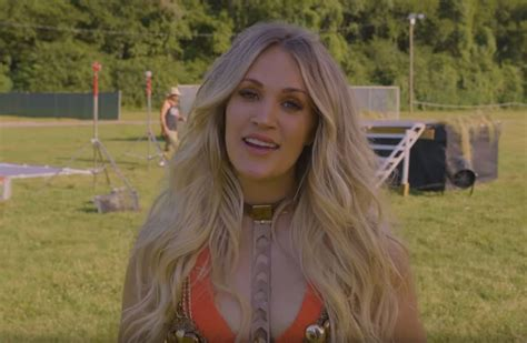 """Check Out The Making Of Carrie Underwood's """"love Wins"""