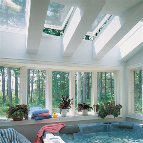 interior of log homes economy curb mount skylight applications