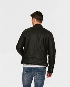 Blouson De Moto : blouson de moto faux leather homme 79579896 we fashion ~ Medecine-chirurgie-esthetiques.com Avis de Voitures