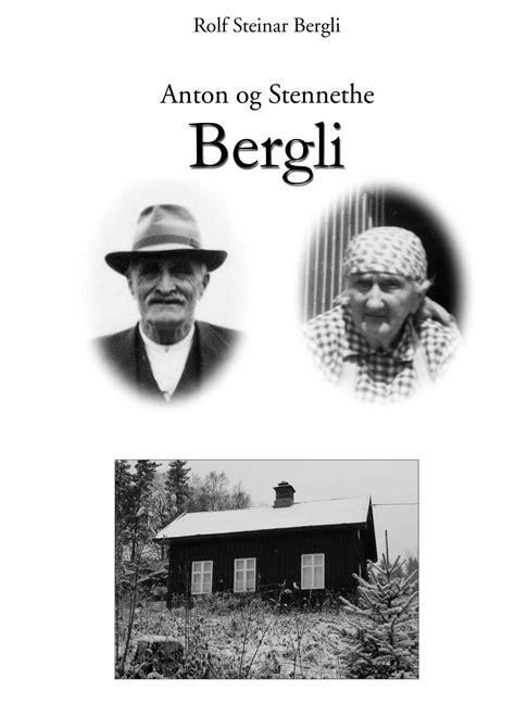 ISSUU - Anton og Stennethe Bergli i Snertingdal by Rolf
