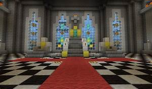 Medieval Throne Hall Minecraft Project