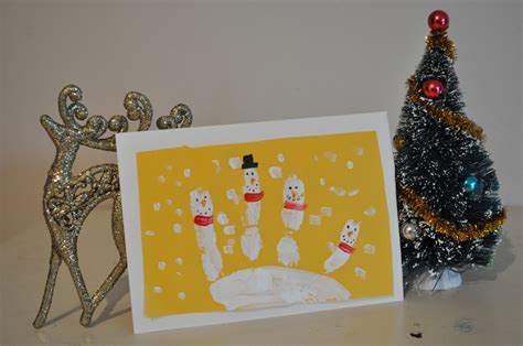 homemade christmas card ideas    kids brisbane kids