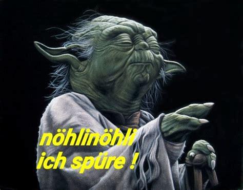 yoda wars lustig witzig spr 252 che bild bilder