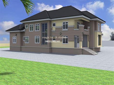 bedroom split level bungalow modern  contemporary nigerian building designs