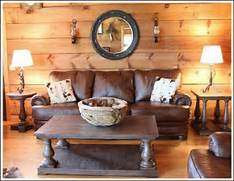 Rustic Cabin Living Room Ideas by Log Home Decorating Ideas Before And After Photos