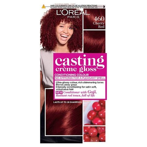 Shop with afterpay on eligible items. L'oreal Casting Creme Gloss Cherry Red 460 Semi-Permanent ...