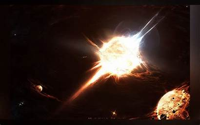 Wallpapers Planets Apocalipsis Space Stars Explosions Outer