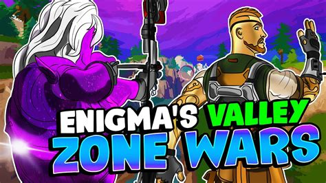 enigmas valley zone wars  fortnite creative