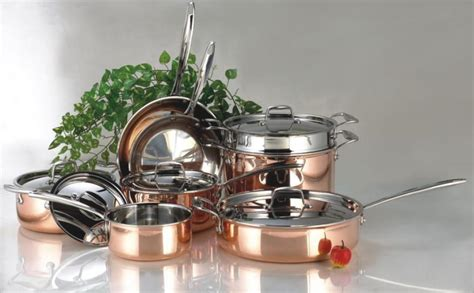copper cookware  stainless steel  battle  cookware cichly