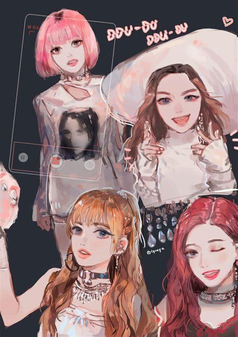 Kpop Anime Wallpaper - blackpink wallpaper homescreen lockscreen 169 tto anime b