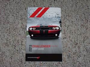 2013 Dodge Challenger Coupe Owner Owner U0026 39 S Manual User