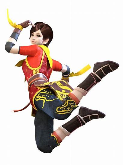 Fighter Eileen Virtua Characters Fu Kung Monkey